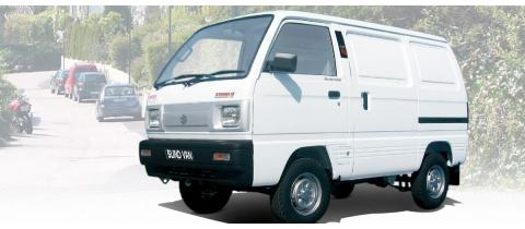 SUZUKI SUPER BLIND VAN